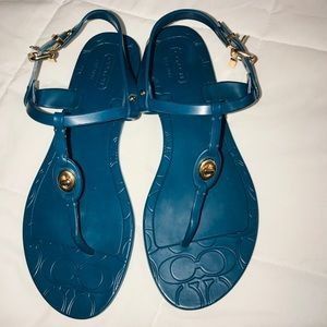 Coach Sandals only 3 Used